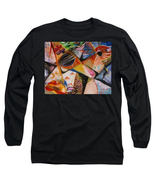 Musical Pastels Long Sleeve T-Shirt
