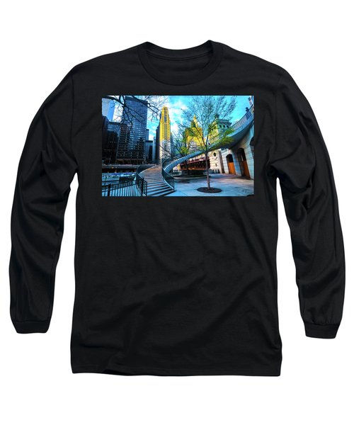 My Blue Chi Long Sleeve T-Shirt