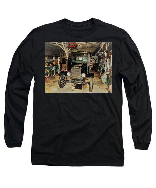 My Garage Too Long Sleeve T-Shirt