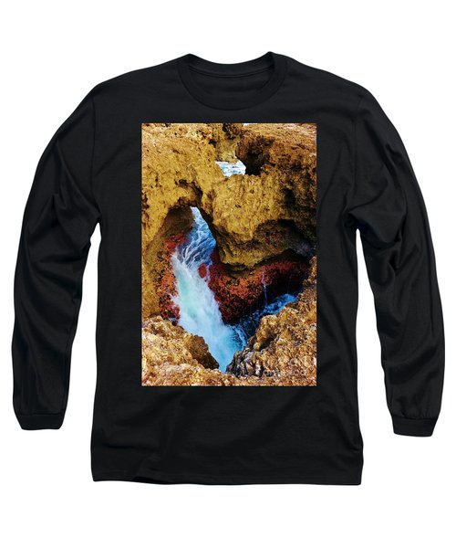 My Heart Between Sea And Shore Long Sleeve T-Shirt by Craig Wood