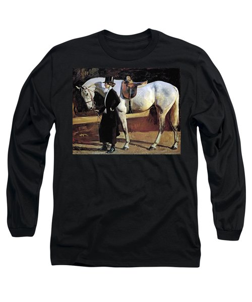 My Horse Is My Friend  Long Sleeve T-Shirt
