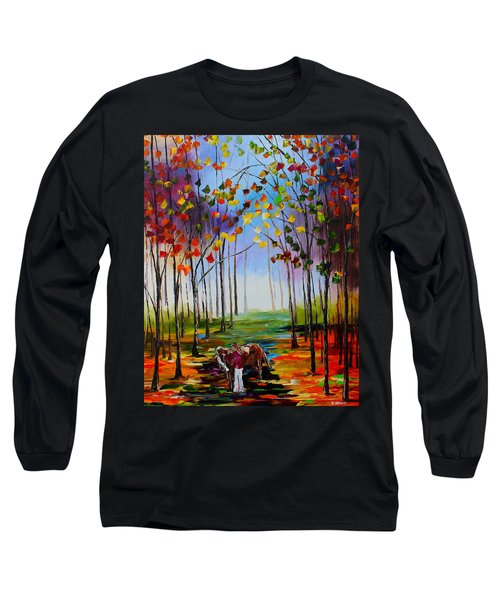 My Horse Long Sleeve T-Shirt