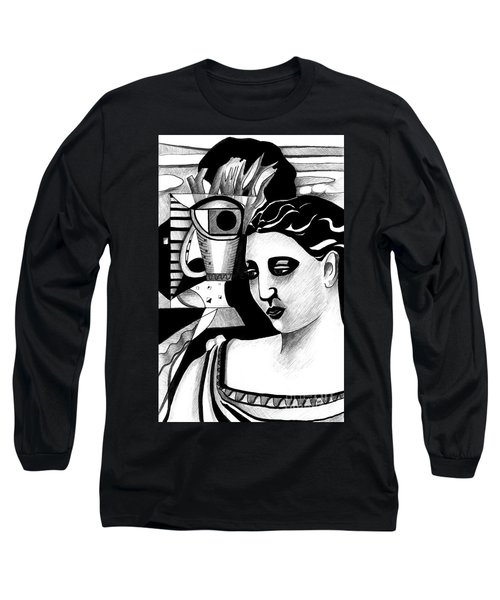 My Outing With A Young Woman By Picasso Long Sleeve T-Shirt