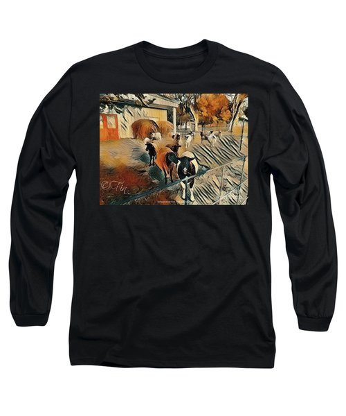My Sheep Put A Smile On My Face, Every Morning Long Sleeve T-Shirt