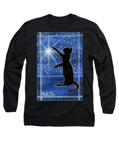 My Shinning Star - Christmas Cat Long Sleeve T-Shirt