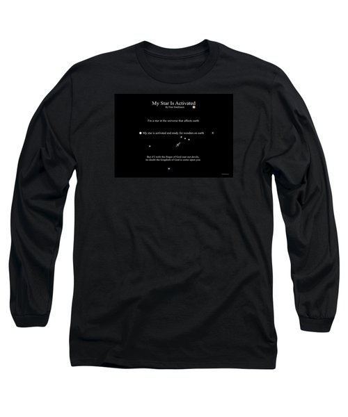 My Star Is Activated Long Sleeve T-Shirt