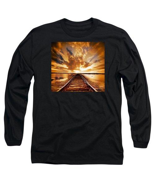 My Way Long Sleeve T-Shirt by Jacky Gerritsen