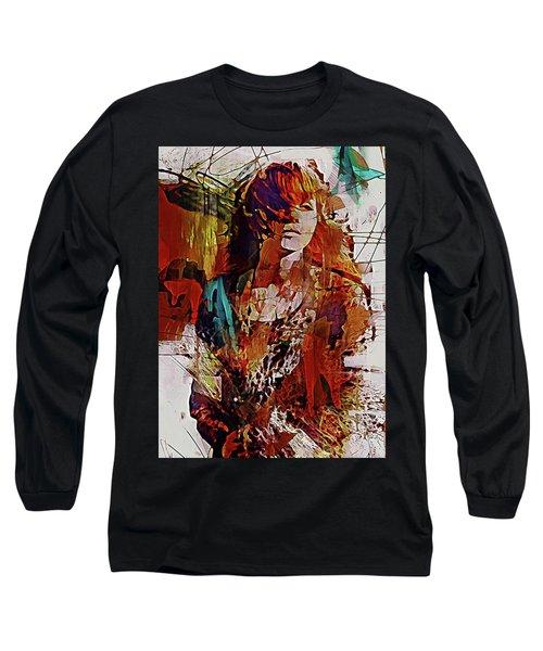 Long Sleeve T-Shirt featuring the digital art Myrrh by Galen Valle
