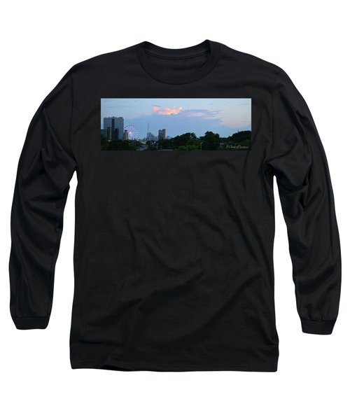 Myrtle Beach Sunset Long Sleeve T-Shirt by Gordon Mooneyhan
