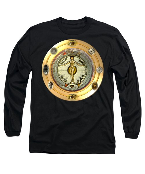 Mysteries Of The Ancient World By Pierre Blanchard Long Sleeve T-Shirt by Pierre Blanchard