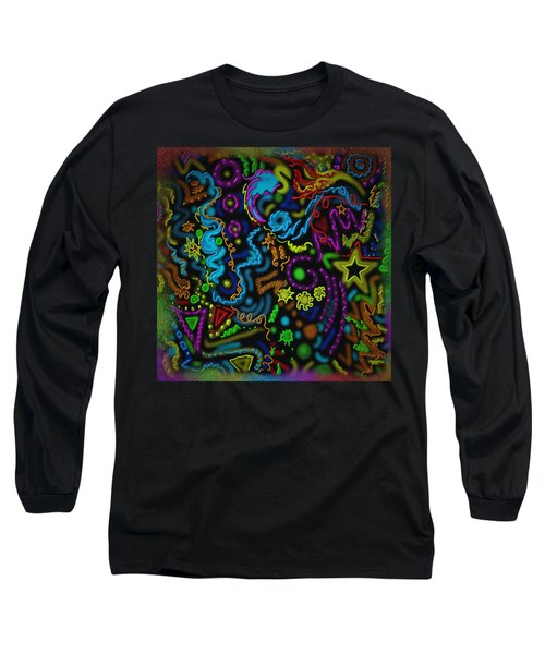 Mysteries Of The Night Long Sleeve T-Shirt by Kevin Caudill