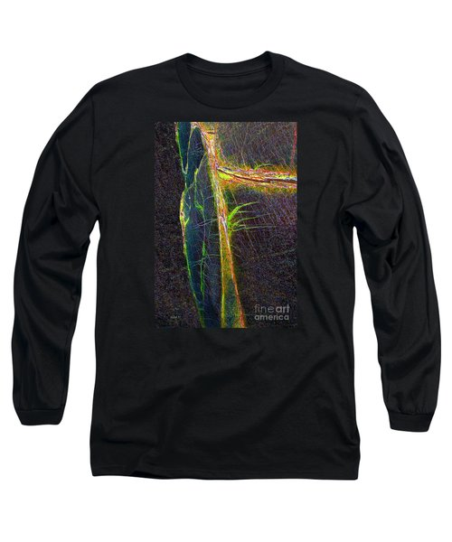 Long Sleeve T-Shirt featuring the photograph Mysterious Tree by Haleh Mahbod