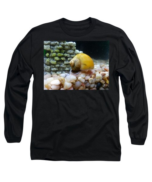 Long Sleeve T-Shirt featuring the photograph Mystery Snail by Robert Knight