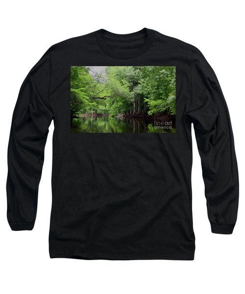 Mystical Withlacoochee River Long Sleeve T-Shirt