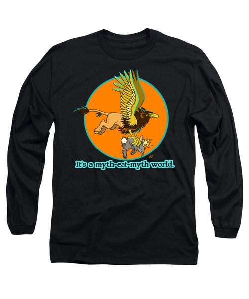 Mythhunter Long Sleeve T-Shirt by J L Meadows
