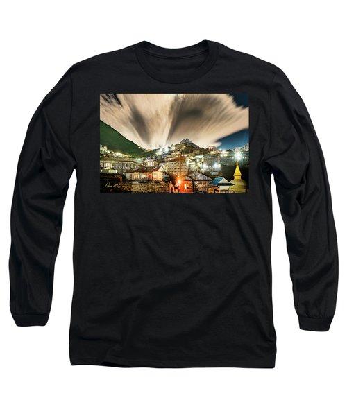 Namche Night Long Sleeve T-Shirt