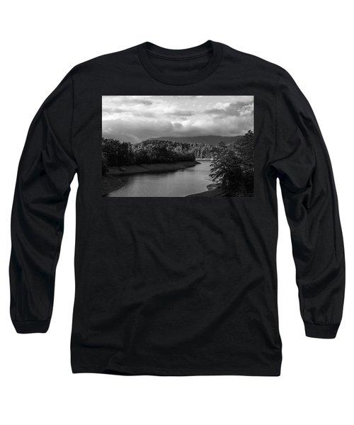 Nantahala River Blue Ridge Mountains Long Sleeve T-Shirt