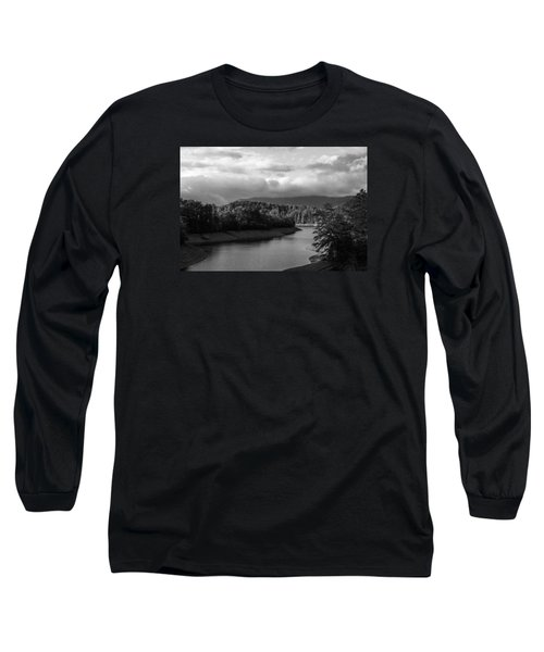 Nantahala River Blue Ridge Mountains Long Sleeve T-Shirt