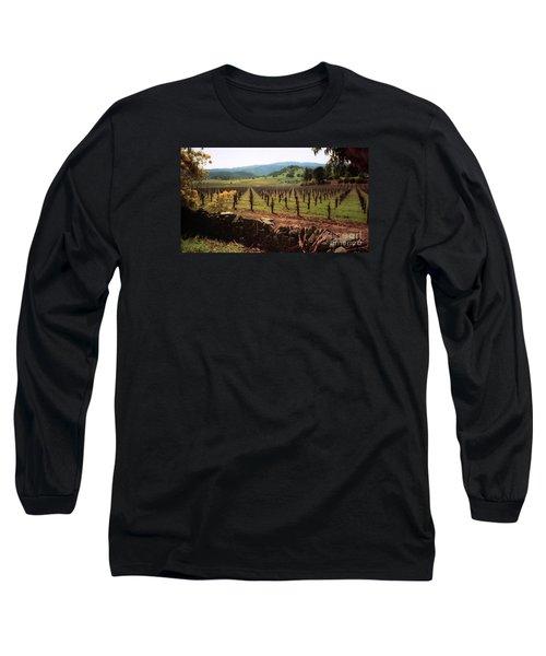 Napa Valley Hills Vineyard Long Sleeve T-Shirt