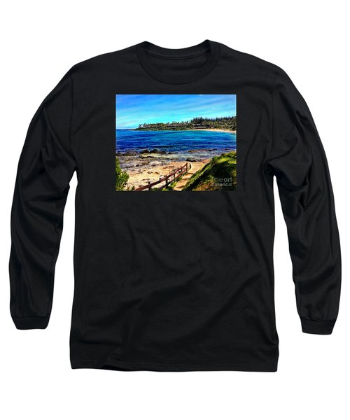 Napili Beach Gazebo Walkway Long Sleeve T-Shirt
