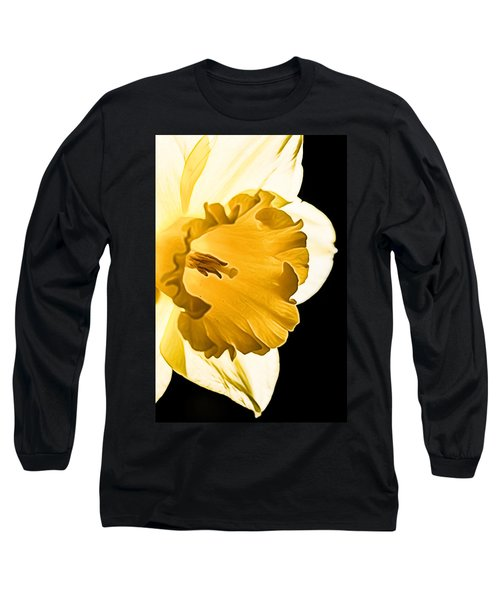 10550 Narcissus Carlton Grossblumig Long Sleeve T-Shirt
