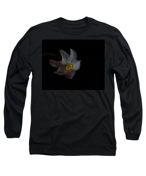 Long Sleeve T-Shirt featuring the photograph Narcissus by Susan Capuano