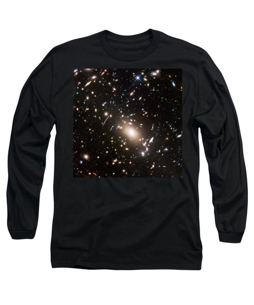 Long Sleeve T-Shirt featuring the photograph Nasa's Hubble Looks To The Final Frontier by Nasa