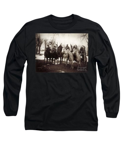 Native American Chiefs - To License For Professional Use Visit Granger.com Long Sleeve T-Shirt