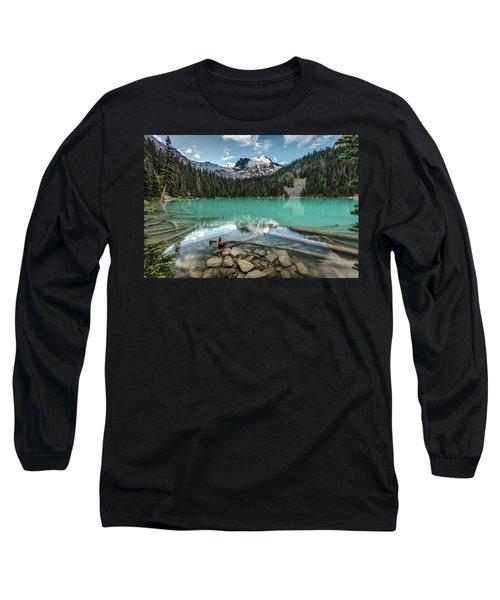 Natural Beauty Of British Columbia Long Sleeve T-Shirt