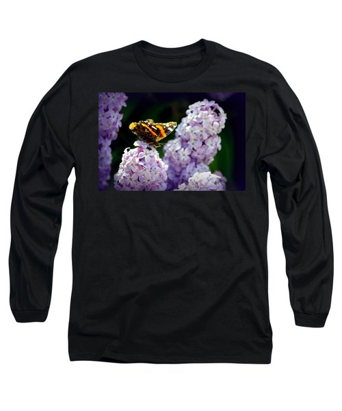 Nature's Beauty Long Sleeve T-Shirt by Clarice  Lakota