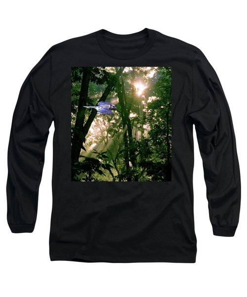 Long Sleeve T-Shirt featuring the photograph Nature's Cathedral by Marie Hicks