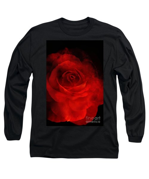 Long Sleeve T-Shirt featuring the photograph Natures Flame by Stephen Mitchell
