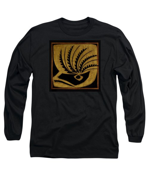 Long Sleeve T-Shirt featuring the mixed media Nature's Grace by Gloria Rothrock