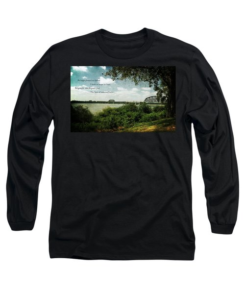 Natures Poetry Long Sleeve T-Shirt