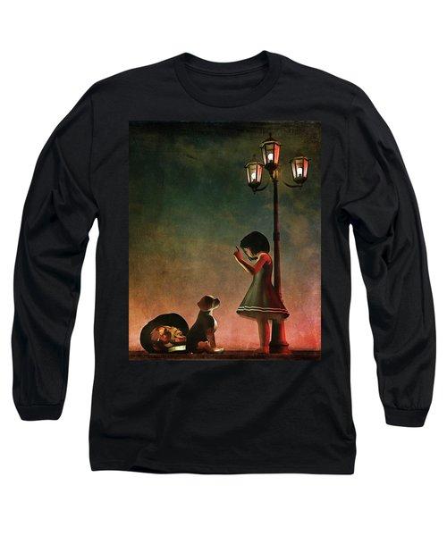 Naughty Naughty Long Sleeve T-Shirt