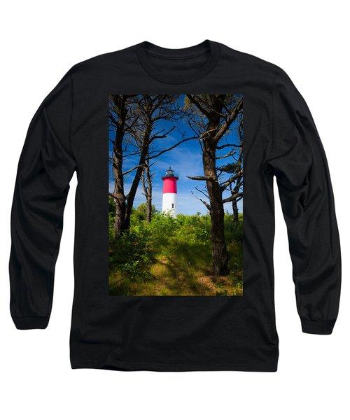 Nauset Lighthouse Long Sleeve T-Shirt