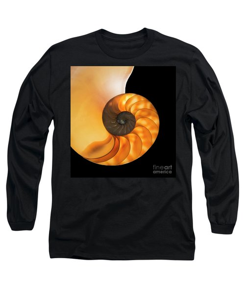 Long Sleeve T-Shirt featuring the photograph Nautalis by Brian Jones