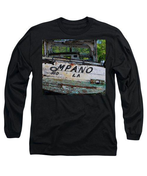 Long Sleeve T-Shirt featuring the photograph Nautical Miles by Lori Mellen-Pagliaro