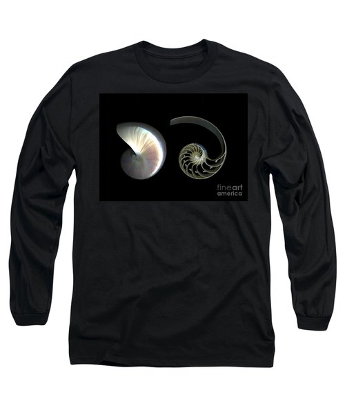 Nautilus Deconstructed Long Sleeve T-Shirt