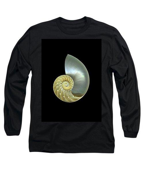 Nautilus Nr.1 Long Sleeve T-Shirt by Christian Slanec