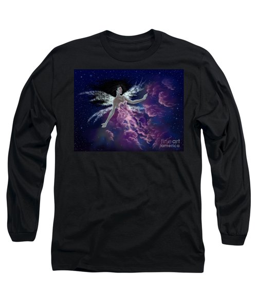 Nebula Long Sleeve T-Shirt by Amyla Silverflame
