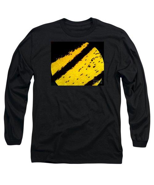 Neon Birdwing Butterfly  Long Sleeve T-Shirt