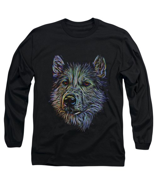 Neon Husky Long Sleeve T-Shirt