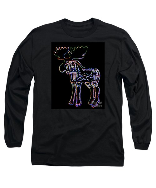 Neon Moose Long Sleeve T-Shirt