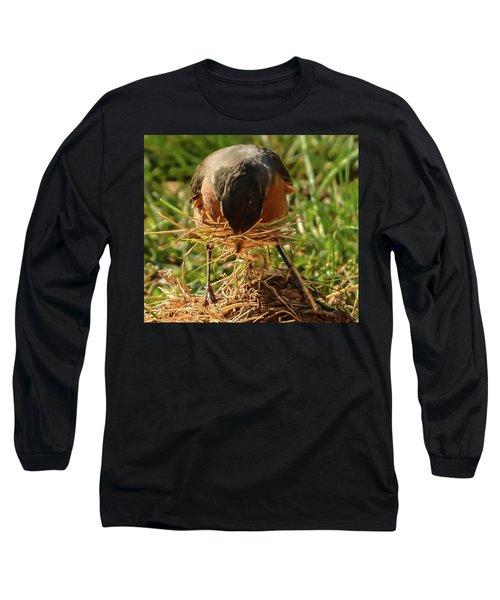 Nest Building Long Sleeve T-Shirt