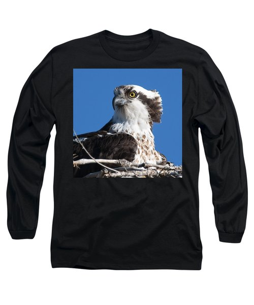 Nesting Osprey Long Sleeve T-Shirt