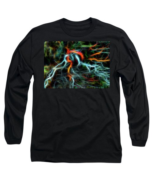 Neurons On Fire Long Sleeve T-Shirt