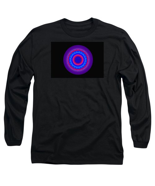 Neutral Density Mandala Long Sleeve T-Shirt by Mike Breau