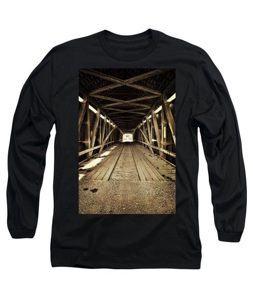 Nevins Bridge Long Sleeve T-Shirt by Joanne Coyle