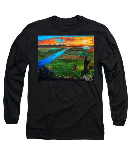 New Beginnings Long Sleeve T-Shirt by Ruanna Sion Shadd a'Dann'l Yoder